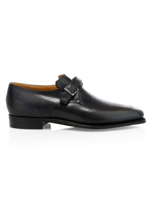 Verneuil Monk Strap Leather Dress Shoes