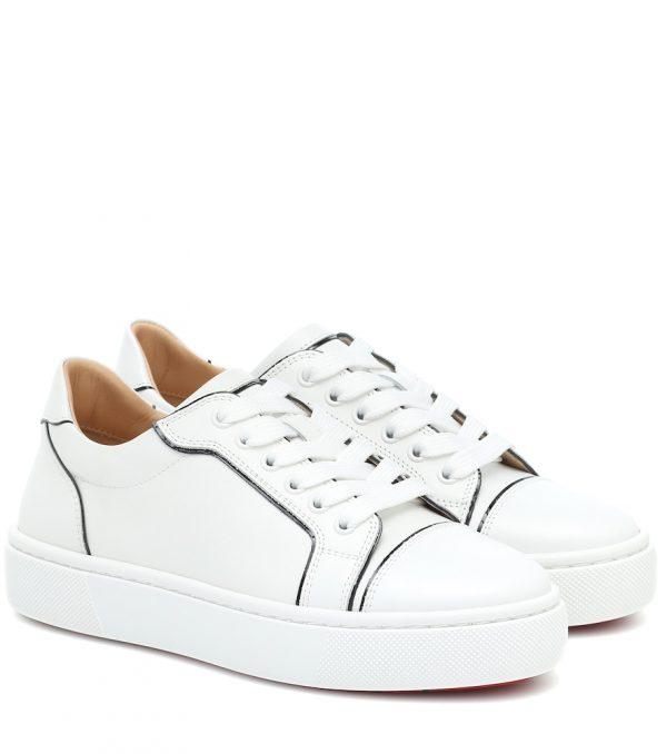 Vieirissima leather sneakers