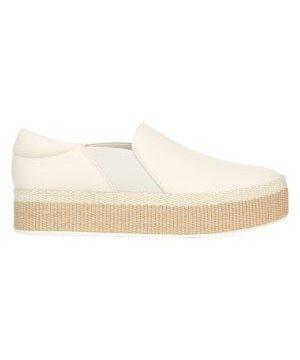 Wilden Slip-On Leather Espadrille Sneakers