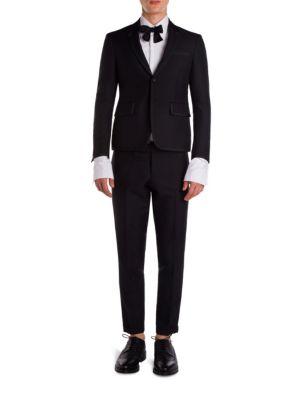 Wool Regular Fit Tuxedo