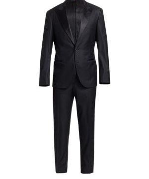 Wool Tuxedo Suit