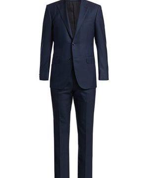Wool & Silk Pinstripe Suit