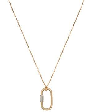 Allsaints Carabiner Pendant Necklace, 16-18