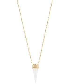 Allsaints Gold-Tone Crystal Arrow Pendant Necklace, 27-29