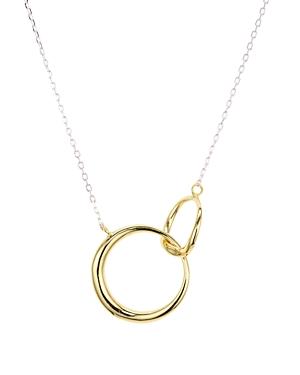 Argento Vivo Interlock Pendant Necklace