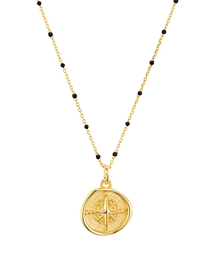 Argento Vivo North Star Pendant Necklace in 18K Gold-Plated Sterling Silver, 16-18