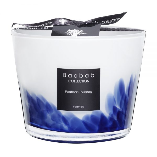 Baobab Collection - Feathers Touareg Scented Candle - 10cm