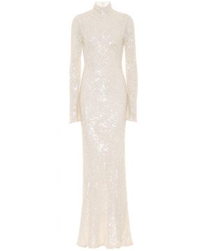 Blenheim sequined bridal gown