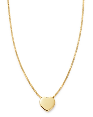 Bloomingdale's Heart Pendant Necklace in 14K Yellow Gold, 18 - 100% Exclusive