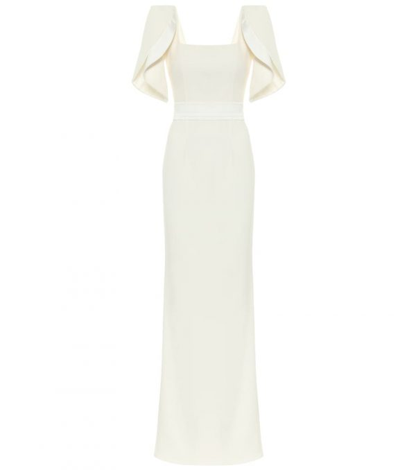 Dara crêpe bridal gown
