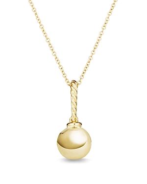 David Yurman Solari Pendant Necklace in 18K Gold
