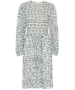 Eulie printed midi dress