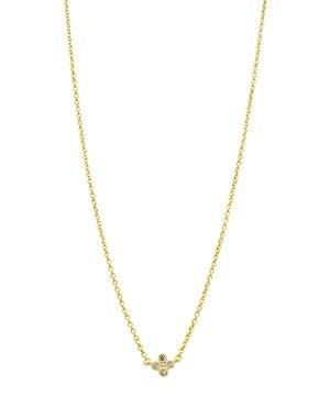 Freida Rothman Clover Pendant Necklace, 18