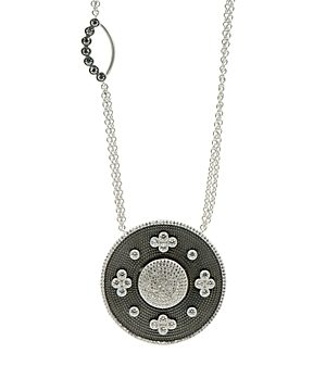 Freida Rothman Double Side Pendant Necklace, 27