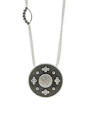 Freida Rothman Double Side Pendant Necklace, 27