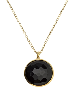 Ippolita 18K Yellow Gold Lollipop Onyx Medium Pendant Necklace, 18