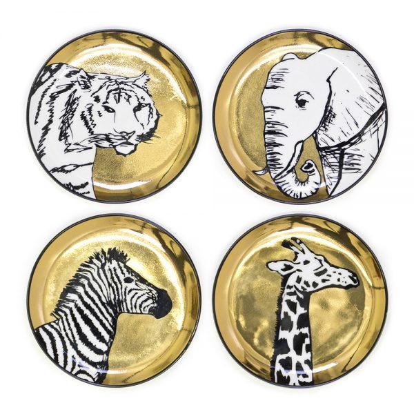 Jonathan Adler - Animalia Coasters - Set of 4