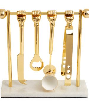 Jonathan Adler - Barbell Barware Set