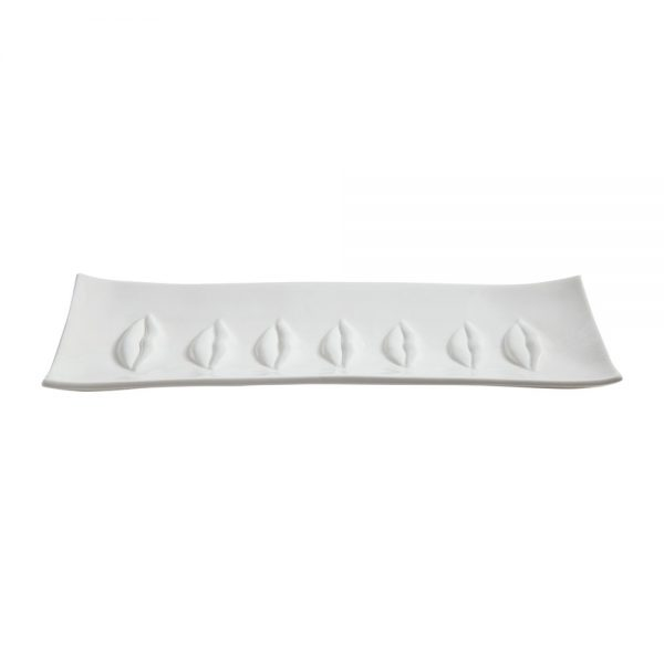 Jonathan Adler - Gala Rectangle Tray - White