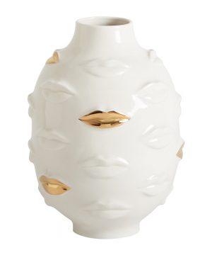 Jonathan Adler - Gilded Muse Gala Round Vase