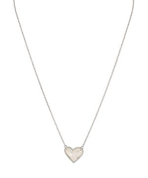 Kendra Scott Ari Heart Short Pendant Necklace, 15