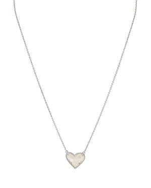 Kendra Scott Ari Heart Short Pendant Necklace, 15