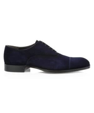 Lavery Suede Oxford Dress Shoes
