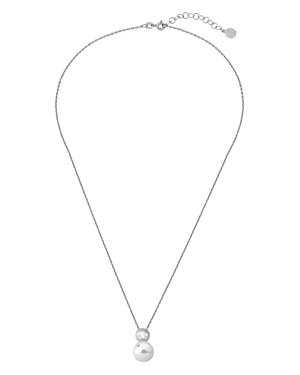 Majorica Simulated Pearl Pendant Necklace, 16-18