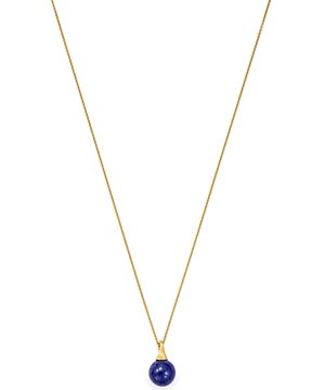 Marco Bicego 18K Yellow Gold Africa Lapis Lazuli Pendant Necklace, 16.75