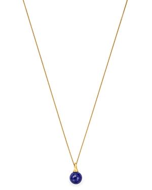Marco Bicego 18K Yellow Gold Africa Lapis Lazuli Pendant Necklace, 16.75