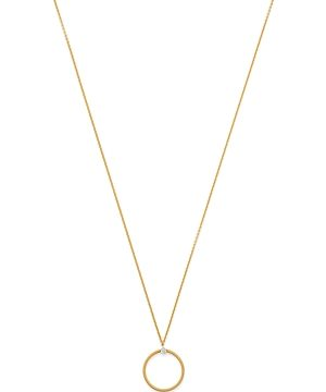 Marco Bicego 18K Yellow & White Gold Bi49 Diamond Circle Pendant Necklace, 17 - 100% Exclusive