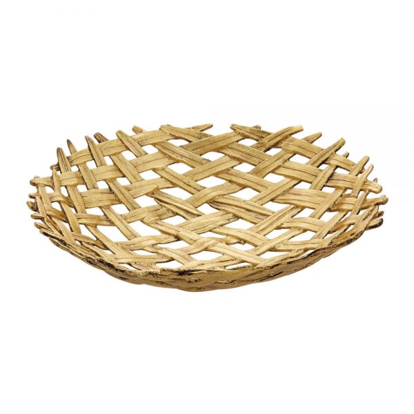 Michael Aram - Palm Centrepiece Shallow Bowl
