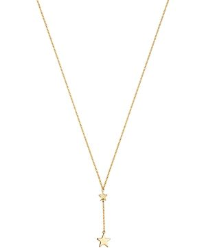 Moon & Meadow 14K Yellow Gold Star Drop Pendant Necklace, 19 - 100% Exclusive