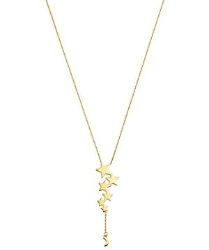 Moon & Meadow Multi-Star Pendant Necklace in 14K Yellow Gold, 18 - 100% Exclusive