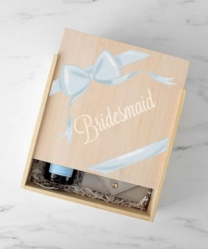 Ribbon Bridesmaid Gift Box