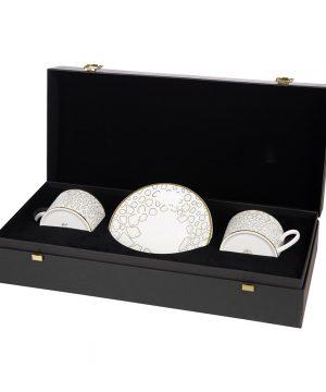 Roberto Cavalli - Giraffe Teacup & Saucer - Set of 2 - Luxury Gift Set