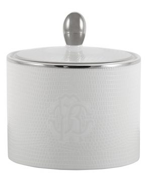 Roberto Cavalli - Lizzard Sugar Pot - Platinum