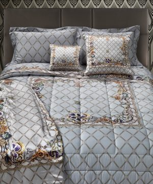 Roberto Cavalli - New Spider Bed Set - Grey - King