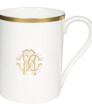 Roberto Cavalli - Silk Gold Fine Bone China Mug