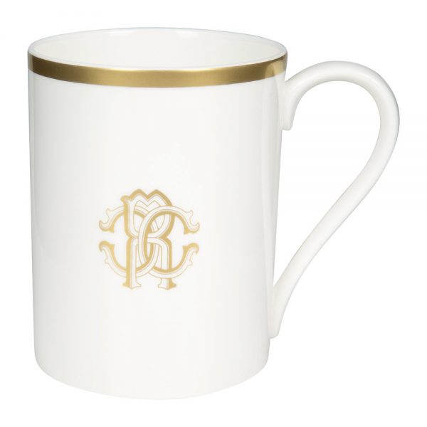 Roberto Cavalli - Silk Gold Fine Bone China Mug