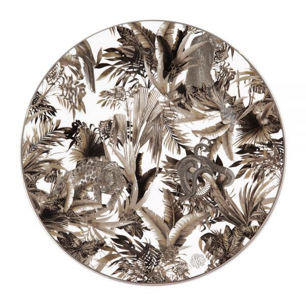 Roberto Cavalli - Tropical Jungle Charger Plate