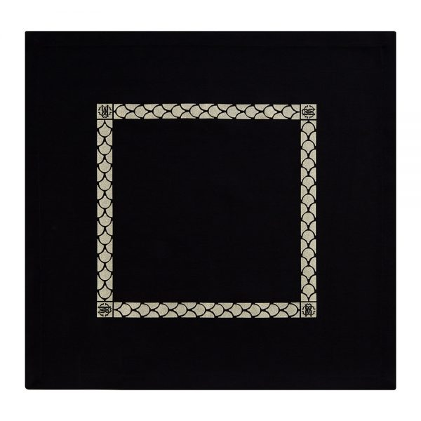 Roberto Cavalli - Venezia Napkins - Set of 2 - Black