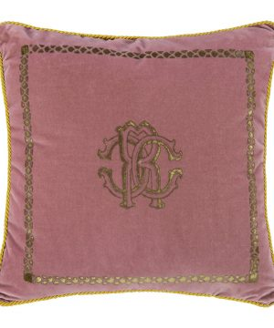 Roberto Cavalli - Venezia Reversible Cushion - 40x40cm - Dusty Pink