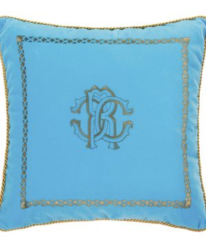 Roberto Cavalli - Venezia Reversible Cushion - 40x40cm - Turquoise