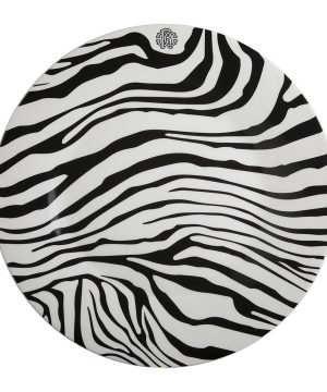 Roberto Cavalli - Zebrage Charger Plate