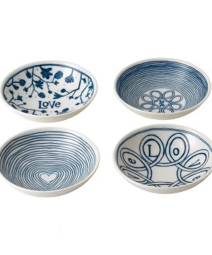 Royal Doulton - Ellen DeGeneres Love Bowls - Set of 4