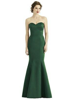 Special Order Sweetheart Strapless Satin Mermaid Dress