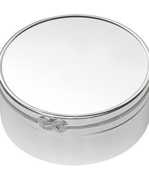 Vera Wang for Wedgwood - Infinity Trinket Box - Round - Large