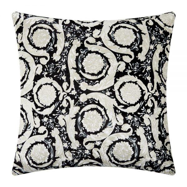 Versace Home - Bavelvet Cushion - 60x60cm - Black/White