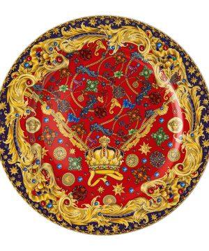 Versace Home - Christmas Barocco Charger Plate